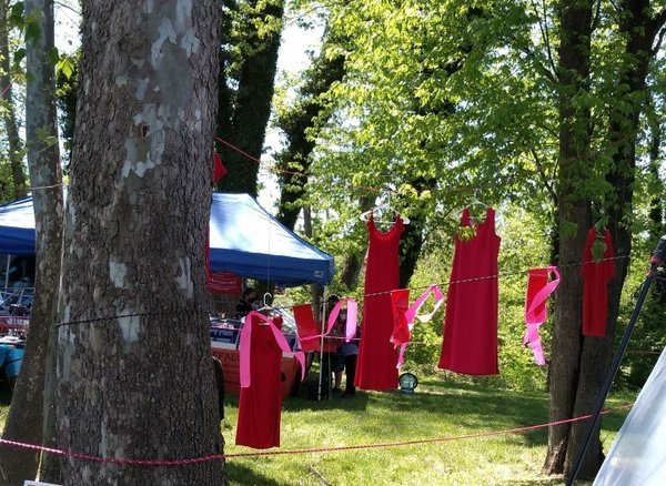 Native Red Dresses