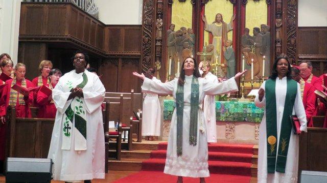 Foundry clergywomen