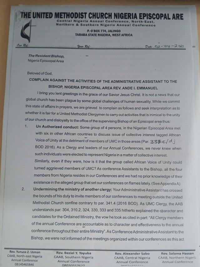 Emmanuel Complaint Page 1