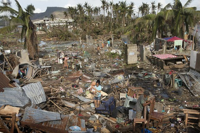 Climate Change Typhoon Haiyan