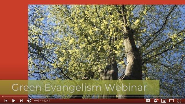 Green Evangelism Webinar