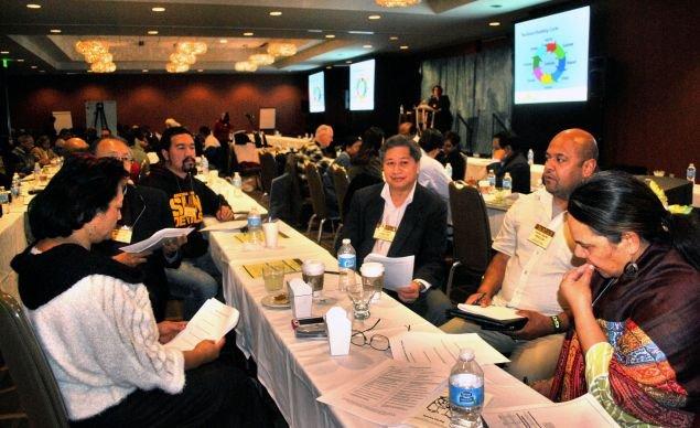 Ethnic Caucuses Meet