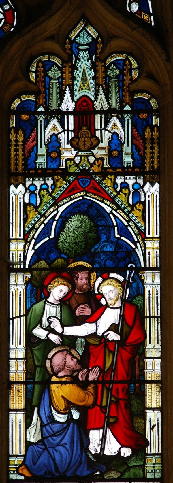 Peter proclaims Jesus