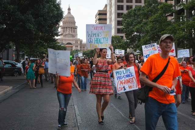 Texas Anti-Abortion Law Protest