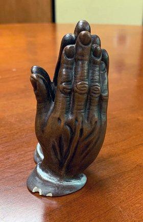 Boy Scouts praying hands
