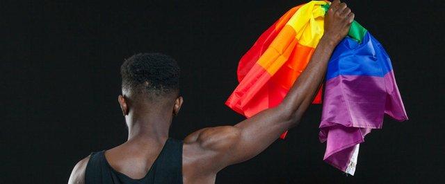 Black LGBTQ Flag