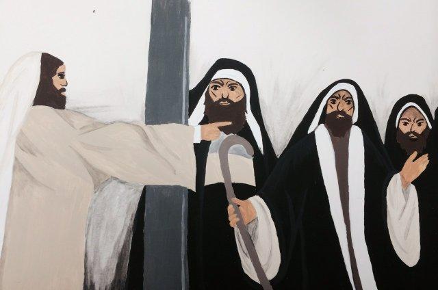 Jesus vs. Pharisees