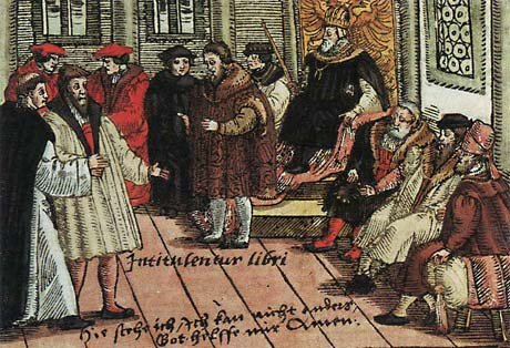 Martin Luther - Diet of Worms
