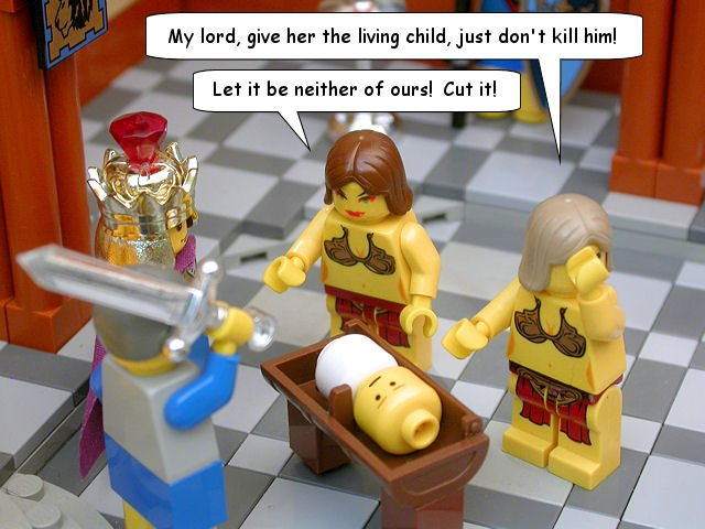 Lego King Solomon