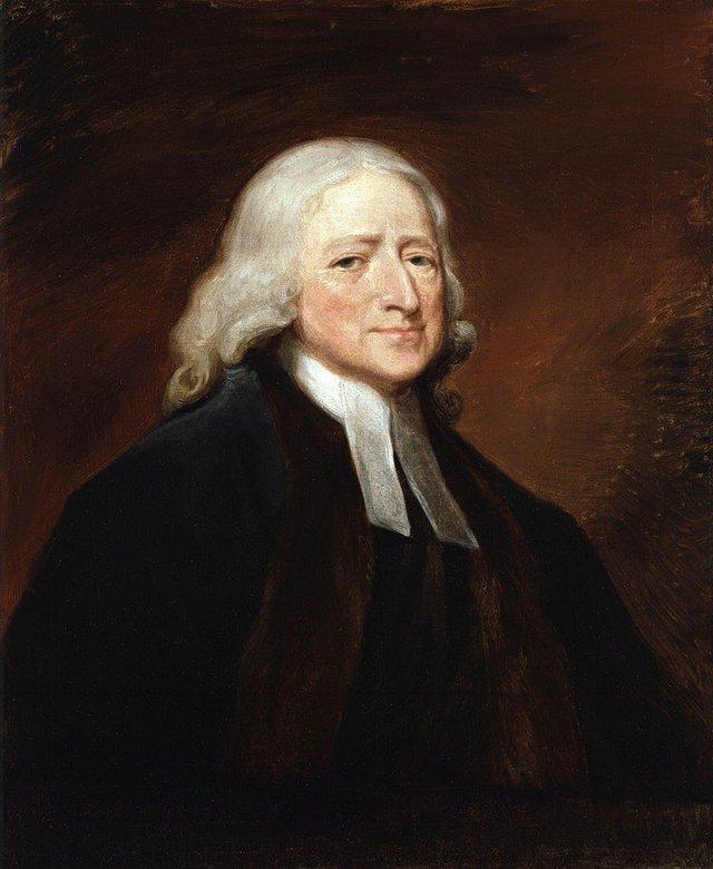 John Wesley by Romney