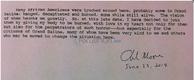 Charles Moore Letter