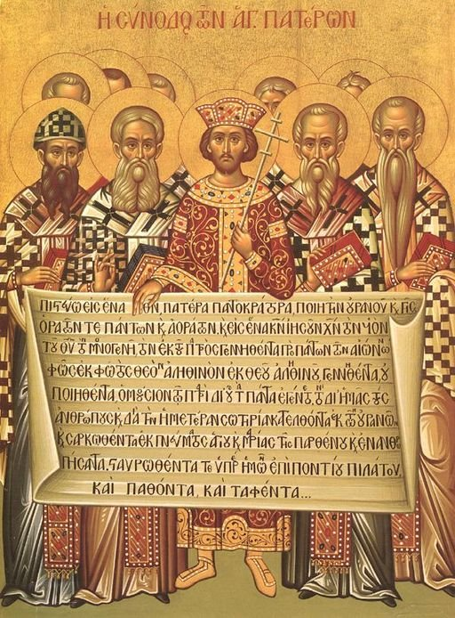 Council of Nicea Icon