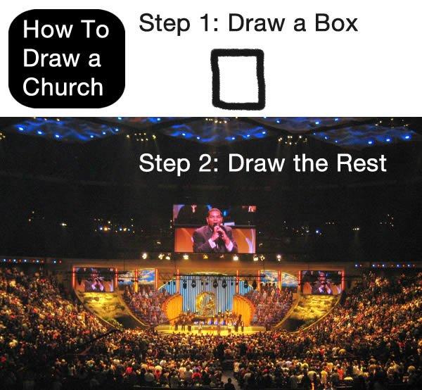 Draw a Church