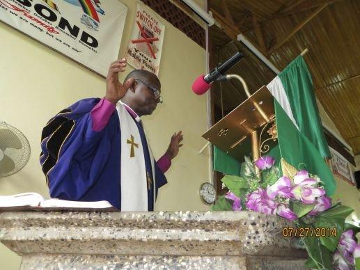 Bishop Yambasu Ebola