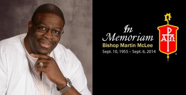 Bishop McLee Memoriam