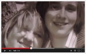 Image from Julie Wood's YouTube video about the impact of United Methodism's anti-LGBT policies on her son, Ben.