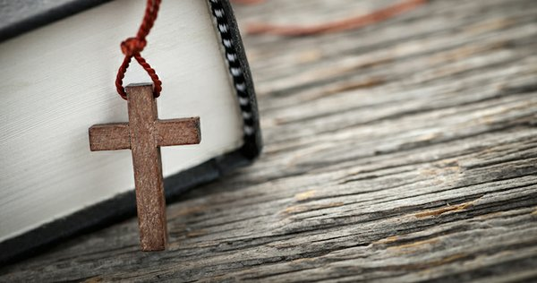 Cross and Book