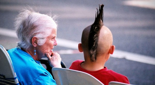 Granny and Mohawk