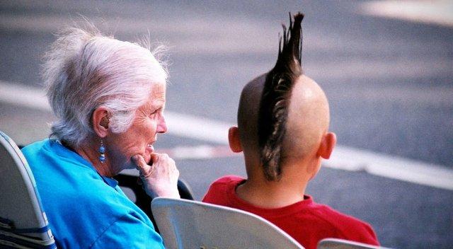 Granny and Mohawk