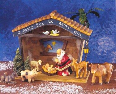 Santa Manger