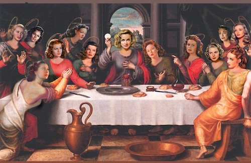 Hollywood Last Supper