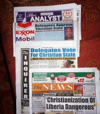 Liberia Newspapers