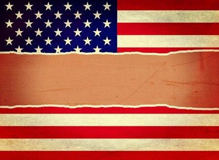 US Flag Divided