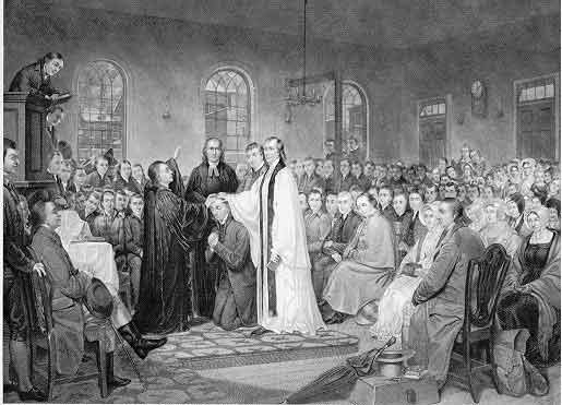 Asbury's Ordination