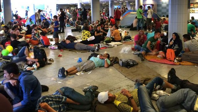 Migrants Budapest
