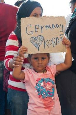 Immigrant girl