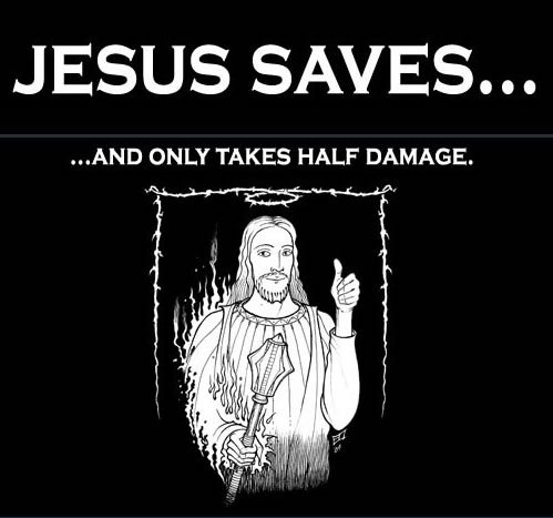 Jesus Half Damage