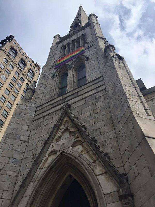 Arch Street Rainbow
