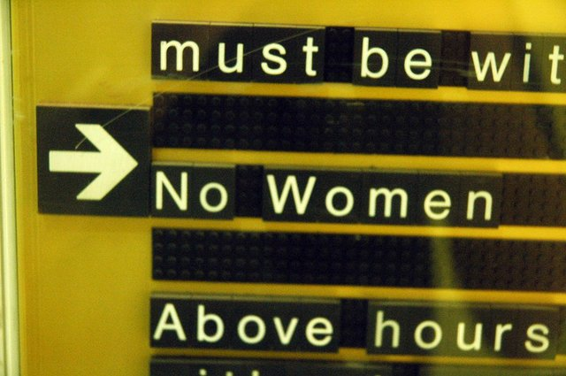 No Women Allowed