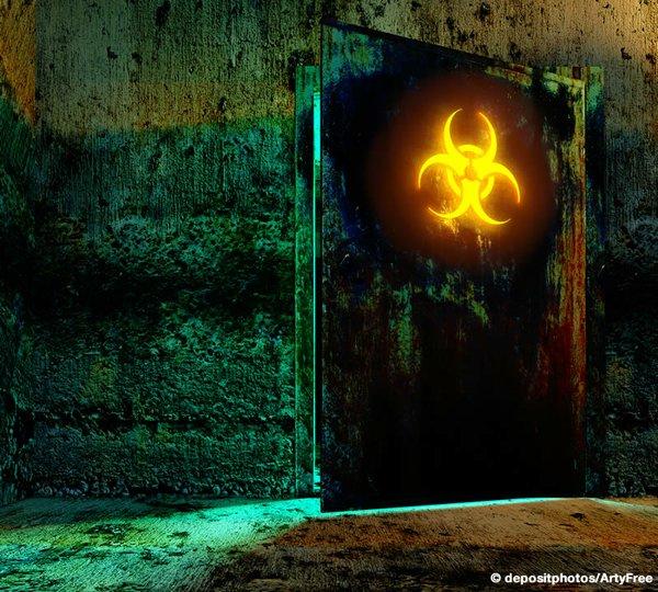 Toxic Secret Door