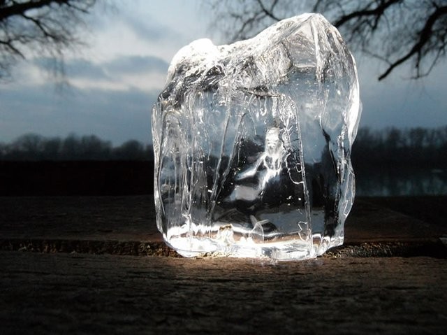 Frozen Ice Winter