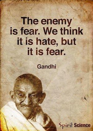 Gandhi Fear