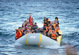 Refugees Raft