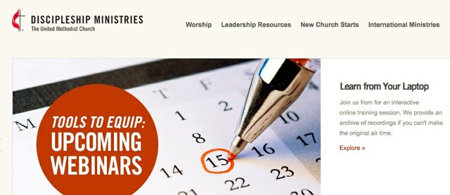 Discipleship Ministries Website
