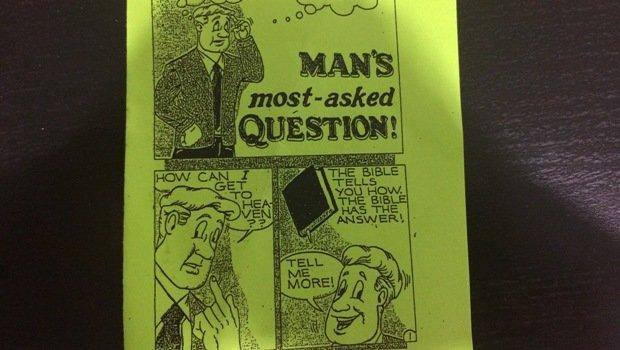 Salvation tract