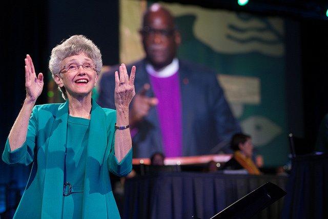 Bishop Signs Address
