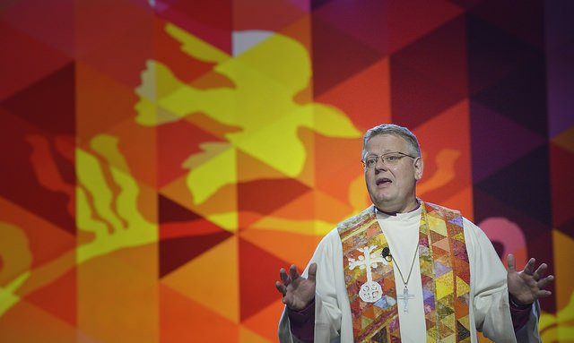 Bishop Alsted Preaches