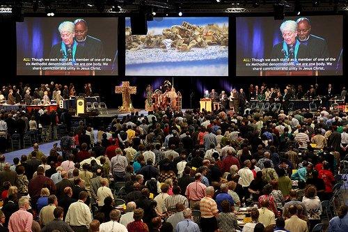 Pan-Methodist Full Communion Celebrated