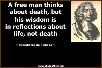 Spinoza on Death