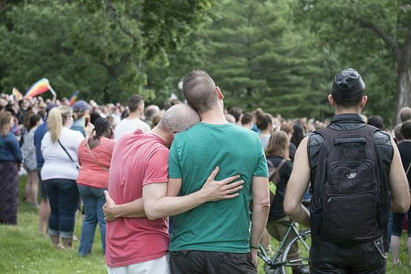Minneapolis Vigil for Orlando