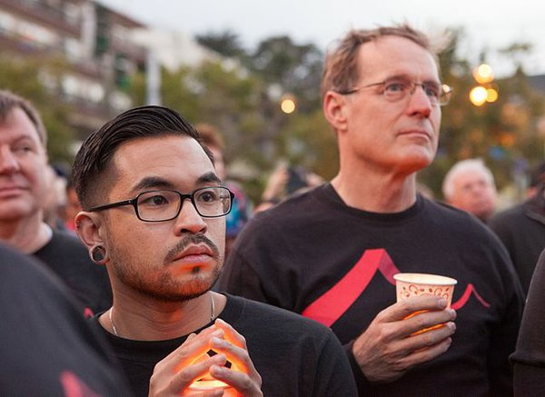 San Francisco Vigil for Orlando
