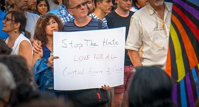 Washington DC Vigil for Orlando