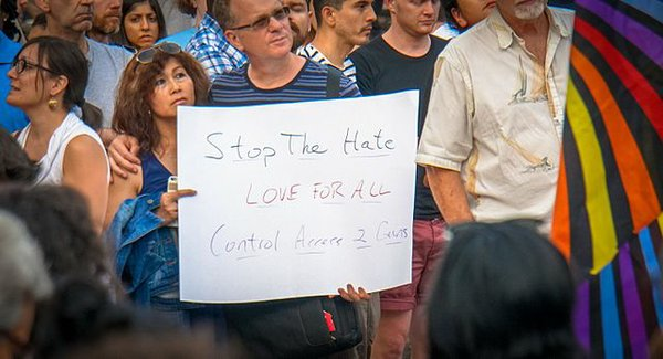 Washington DC Vigil for Orlando