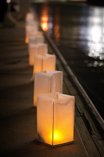 Lanterns Honor Deceased Bishops