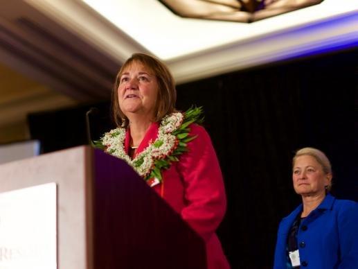 Bishop-elect Karen Oliveto