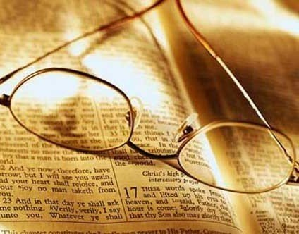 Bible glasses